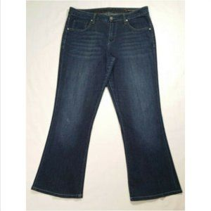JAG JEANS Women Mid Rise Flare Leg Jeans 2361E1M